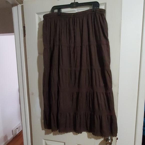 Lane Bryant Dresses & Skirts - VGU size 3x Tiered Boho Peasant Skirt